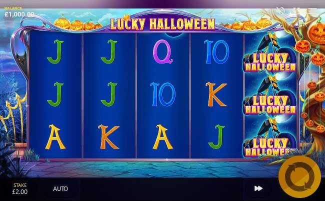 Lucky Halloween slot screenshot